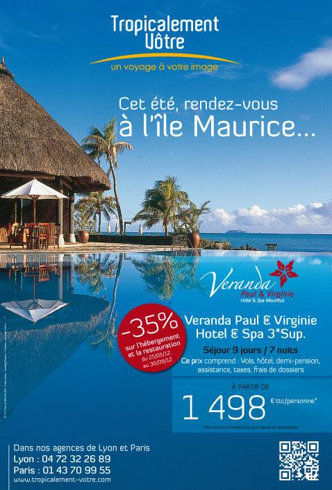 Promotions île Maurice