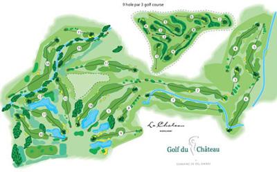 Le parcours du Chateau du golf