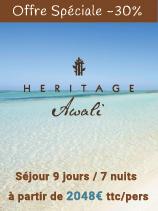 Jusqu'à -30% de réduction sur l'hôtel Heritage Awali Golf & Spa Resort 5*