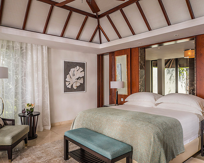 chambre four seasons resort mauritius at anahita