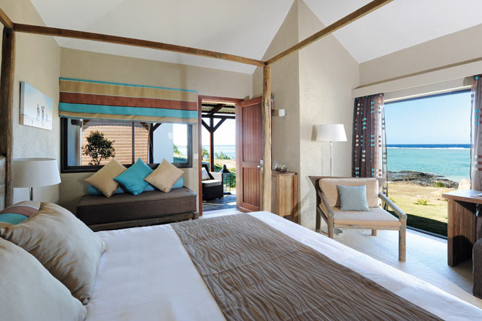 Chambre de l'hôtel Tekoma Rodrigues