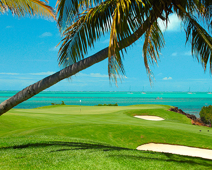 golf four seasons resort mauritius at anahita