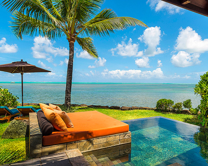 ocean villa four seasons resort mauritius at anahita